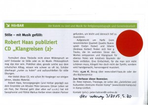 Rezension Klangreisen 2